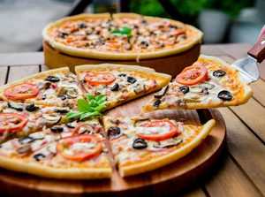 Grilled Greek-Style Pizza