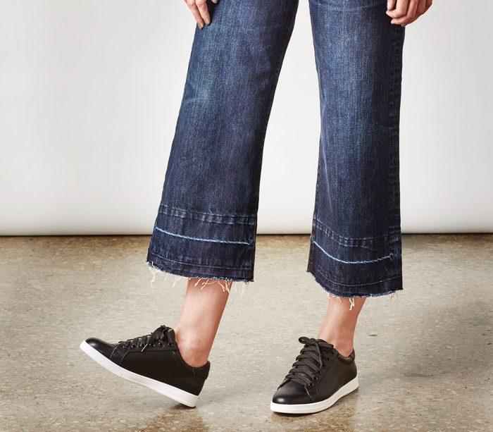 wide leg denim