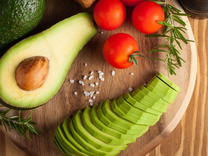 Avocado, sliced