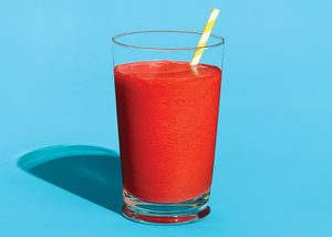 Tropical Strawberry and Pineapple Smoothie