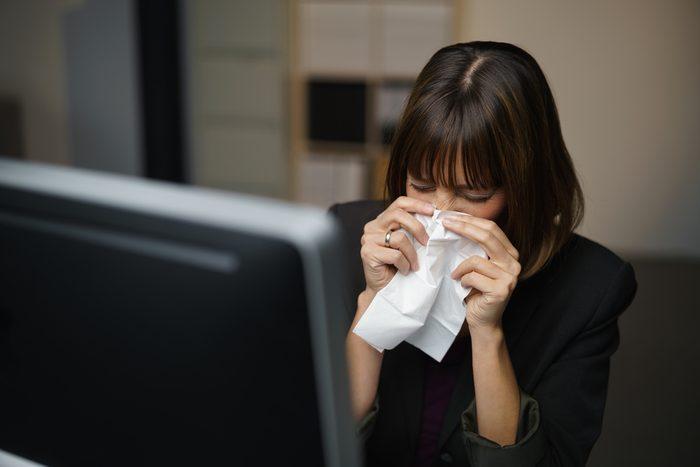 sick at work