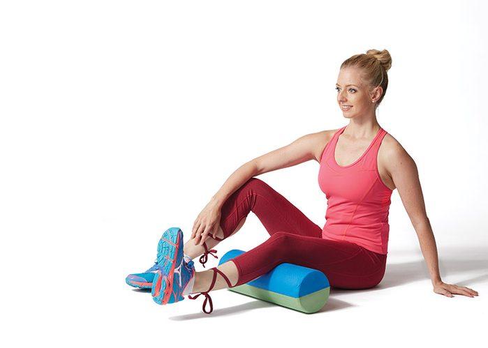 knee workout- single leg quad activation