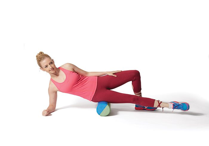 knee workout IT band release