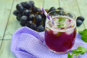 Grapes of Life Mocktail