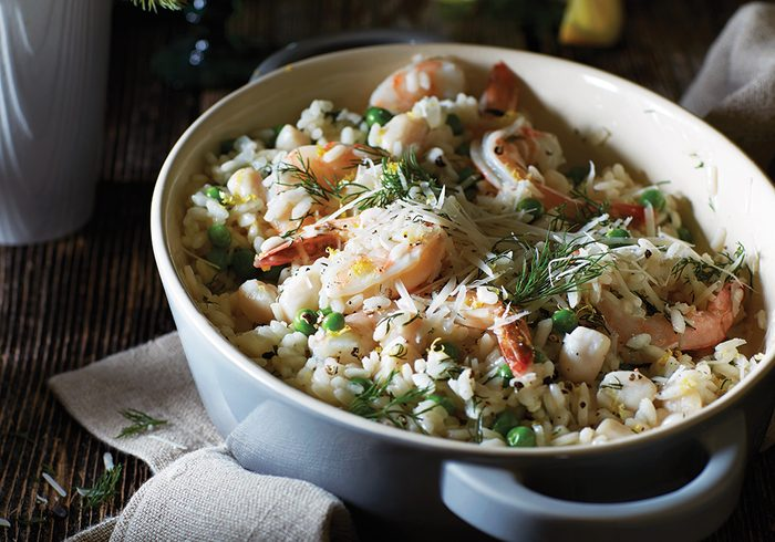 Seafood Risotto | citrus recipes