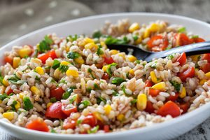Corn and Whole-Wheat Salad