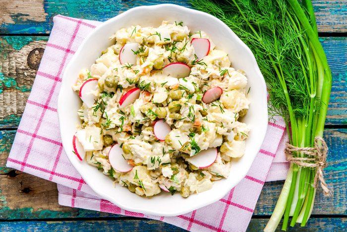 potato horseradish salad | picnic recipes