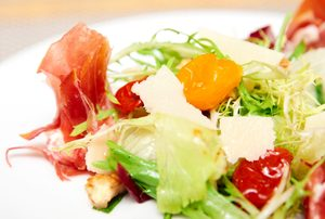 Prosciutto, Pear and Parmesan Salad