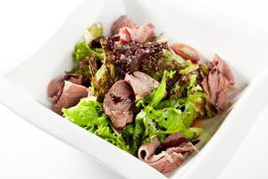 Duck Salad with Buckwheat