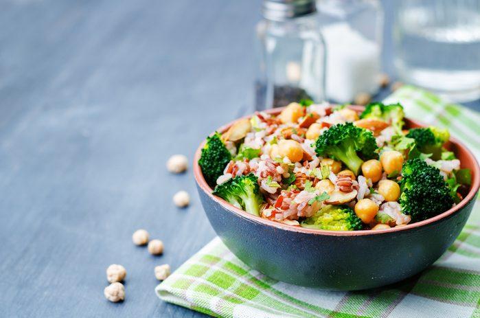 Chickpea and Orange Salad | citrus recipes
