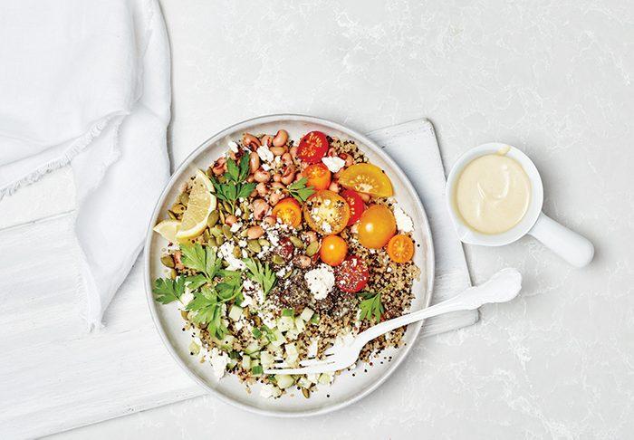 quinoa black eyed pea salad   citrus recipes