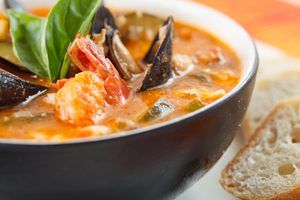 Easy Bouillabaisse With Rouille