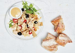 Pasta Pan Bagnat with Tuna and Olives