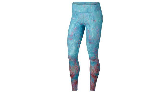 light blue full leggings