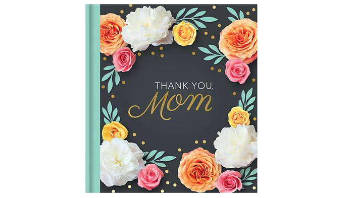Sentimental Mother's Day Gifts: book of quotes