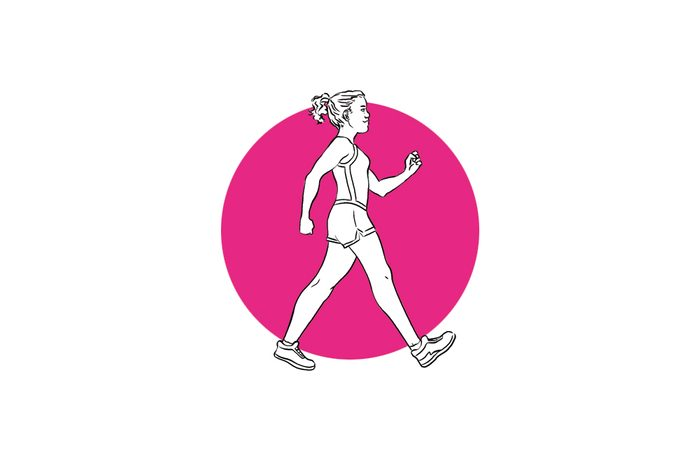 get stronger in one week -walk