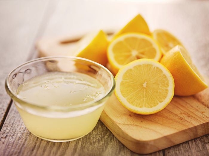 Lemons are one of the surprising home remedies for acne