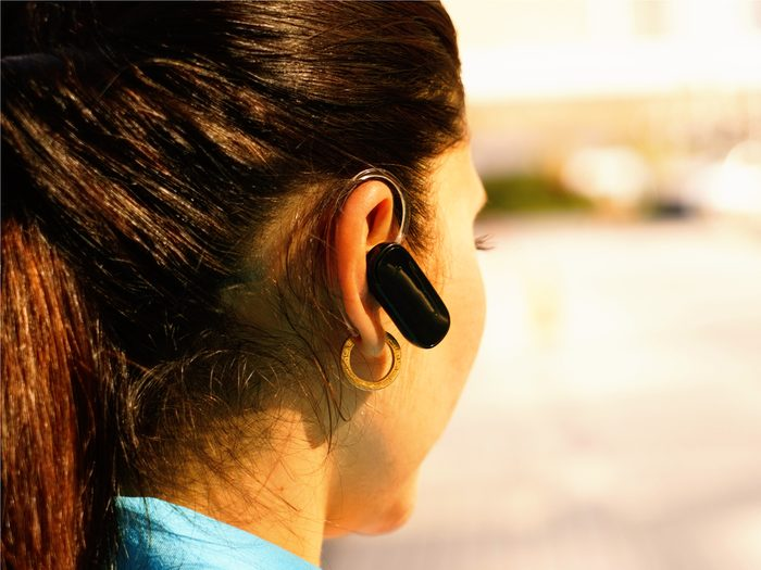 You may be breaking out with acne because of your Bluetooth