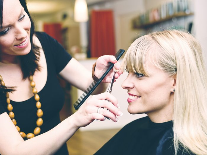 Hair stylist secret: you represent them so they want you to look good