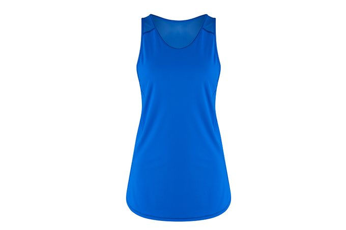 Best workout top, lululemon blue tank