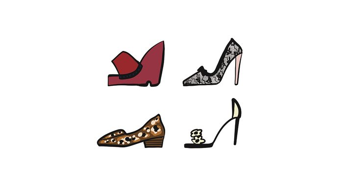 Choosing comfortable shoes that look good