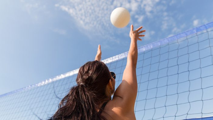 how to deal with injuries, beach volleyball