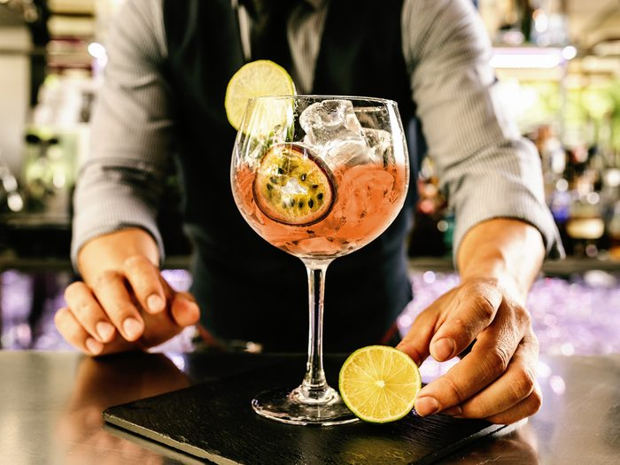 Lowering your booze intake can reduce bloating