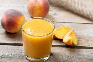 Ginger-Peach Smoothie