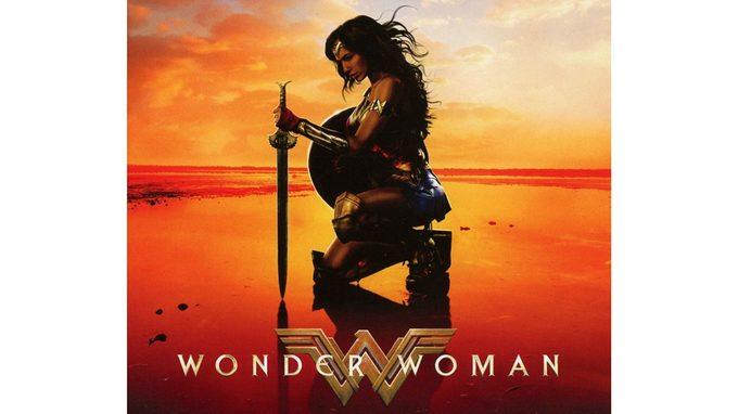 Wonder Woman as fitspo, cover of the Wonder Woman soundrack