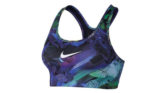 fitness gear summer 2017, a water colour Nike bra