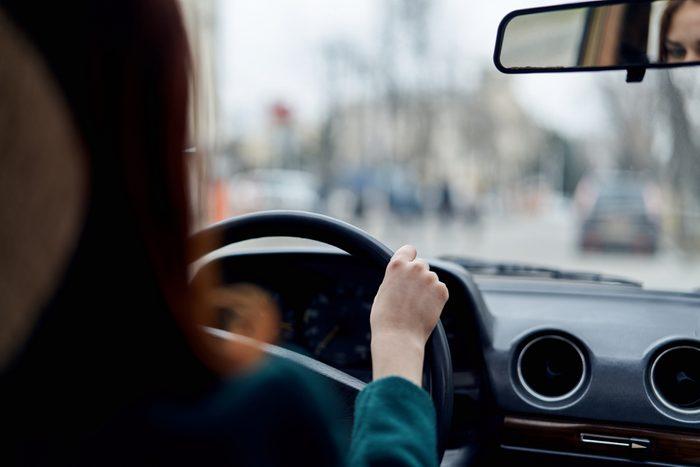 woman driving_ stress-free commute