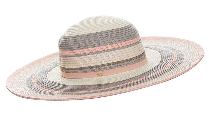 how to wear millennial pink, Ted Baker London beach hat