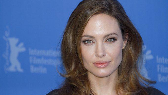Angelina Jolie Bell's Palsy