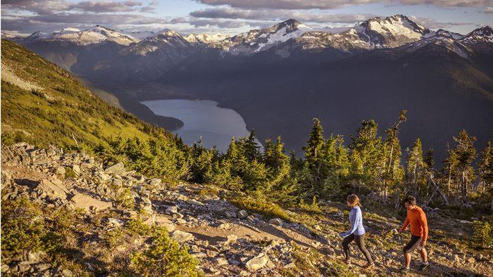 Whistler Tourism, mountain shot