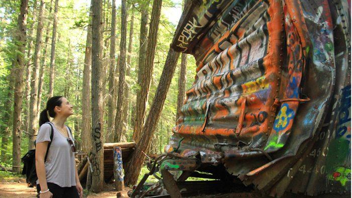 Whistler Train Wreck Trail