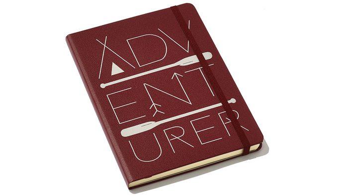 Jeanne Beker purse, adventure journal