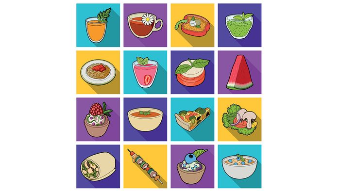 foods high in fibre, a collage of healthy foods