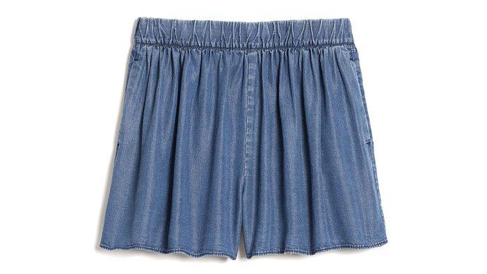summer blue trends, gap shorts