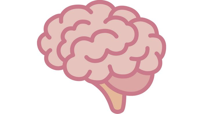 too young for brain health, an illustration of a healthy brain
