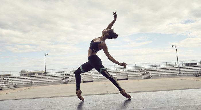 Misty Copeland goals life, the principle ballerina posting at a stadium