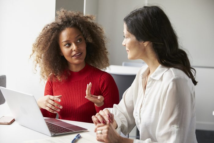 next overnight success_women talking