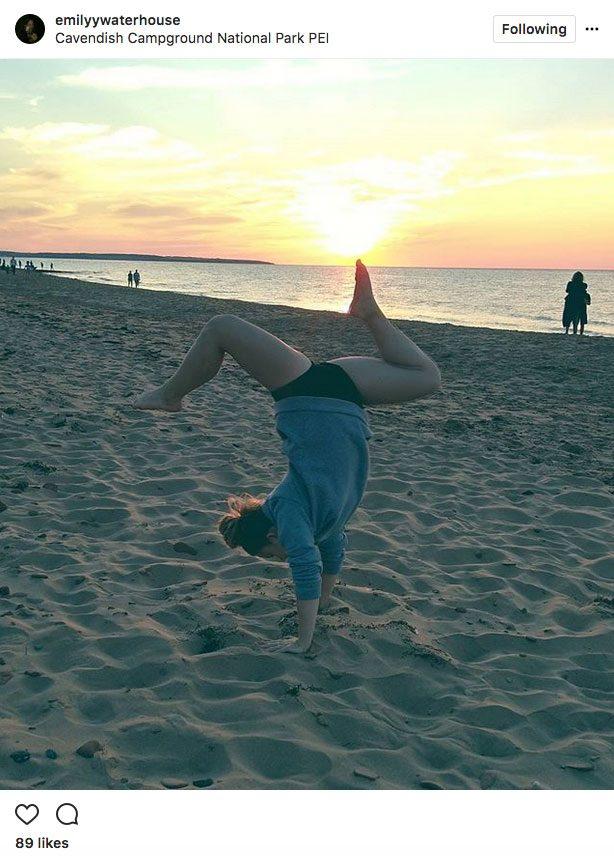 Instagram Yoga Cavendish Campgrounds PEI