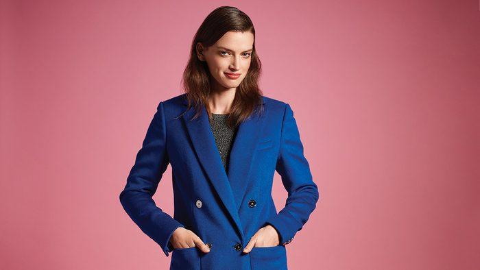 Fall Fashion Trends, Blue Coat