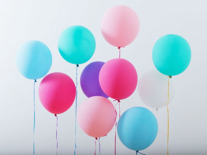 best birthday gifts ever, a group of pastel balloons