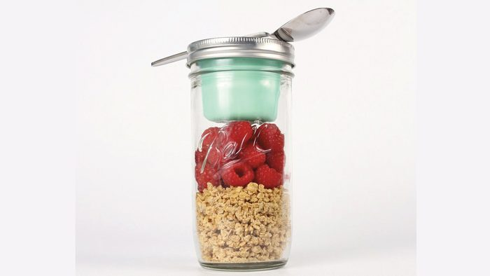 better packed lunch, mason jar salad
