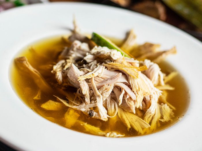 soupa de lima, lime soup   citrus recipes