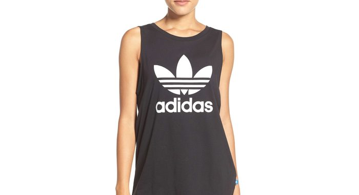 Cyber Monday Nordstrom, adidas tank shown