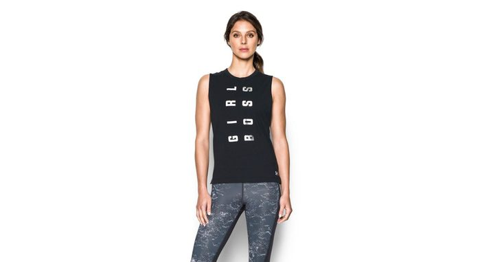 Cyber Monday at The Bay, tank and leggings shown