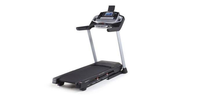 cyber Monday at Walmart, treadmill shown