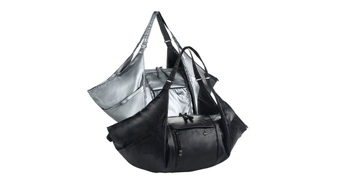 Cyber Monday at eBay, gymbags shown